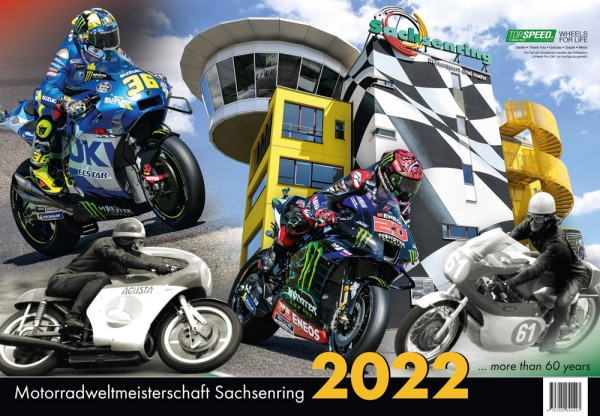 "Kalender 2022 - ""Motorrad-WM Sachsenring"""