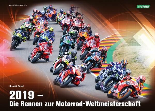 """Buch """"2019 - Die Rennen zur Motorrad-Weltmeisterschaft"""""""
