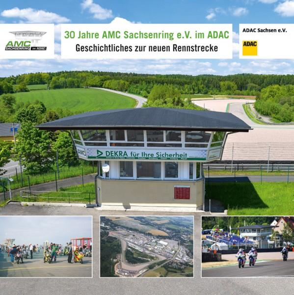 """Broschüre """"30 Jahre AMC Sachsenring e.V. im ADAC"""""""